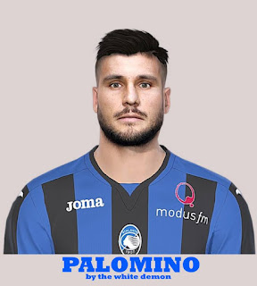 PES 2019 Faces José Luis Palomino by The White Demon