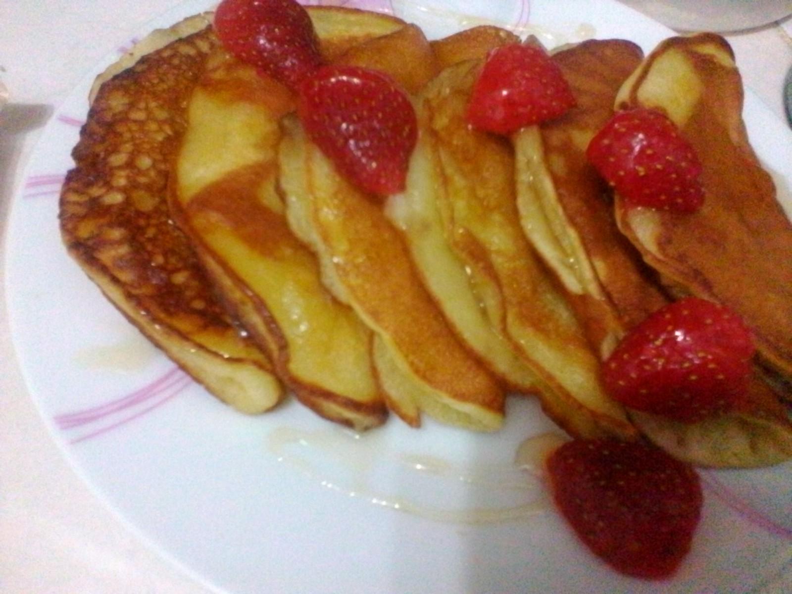 resepi pancake tanpa telur, menu minum petang, pancake mudah, lempeng