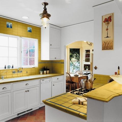 dekorasi interior ruang dapur ukuran kecil | info desain