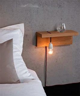 luminaria de cabeceira