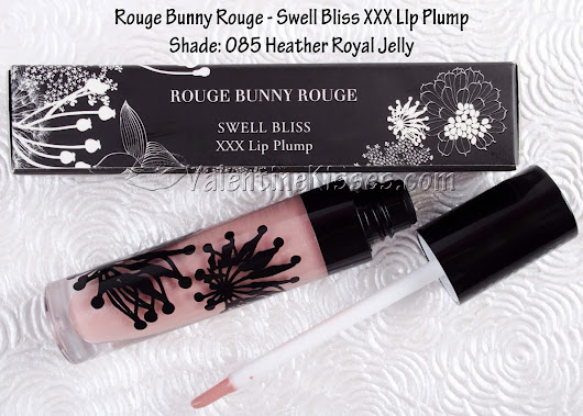 Valentine Kisses: Rouge Bunny Rouge Swell Bliss XXX Lip Plump in Heather Royal Jelly - pics, swatches, review