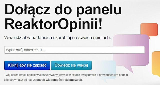 Kliknij obrazek i przejdź na oficjalną stronę panelu ReaktorOpinii.