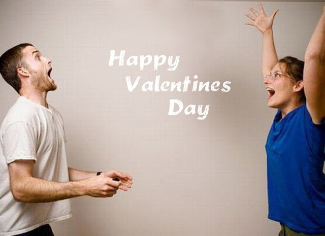 Happy valentine day couple image in hd