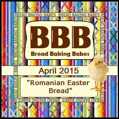 April 2015 Bread Baking Babes challenge: Romanian Easter Bread