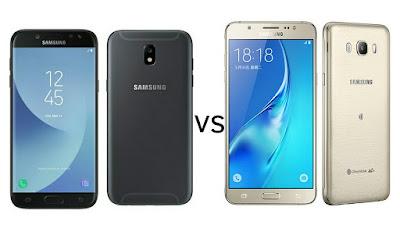 Samsung Galaxy J7 2017 vs Samsung Galaxy J7 2016