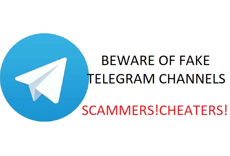 Beware of Fraud Telegram Channels offering Electronics Products at