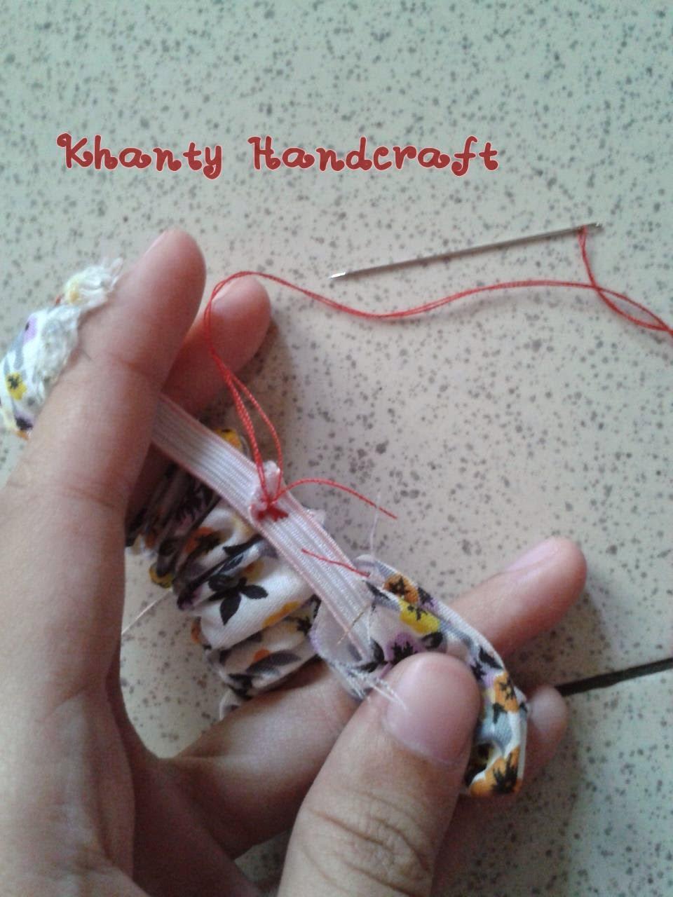 Khanty's Handcraft: Ikat Rambut Simple dan Lucu
