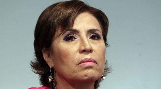 """No tengo nada que aclarar"" por #LaGranEstafa, ataja molesta Rosario Robles"