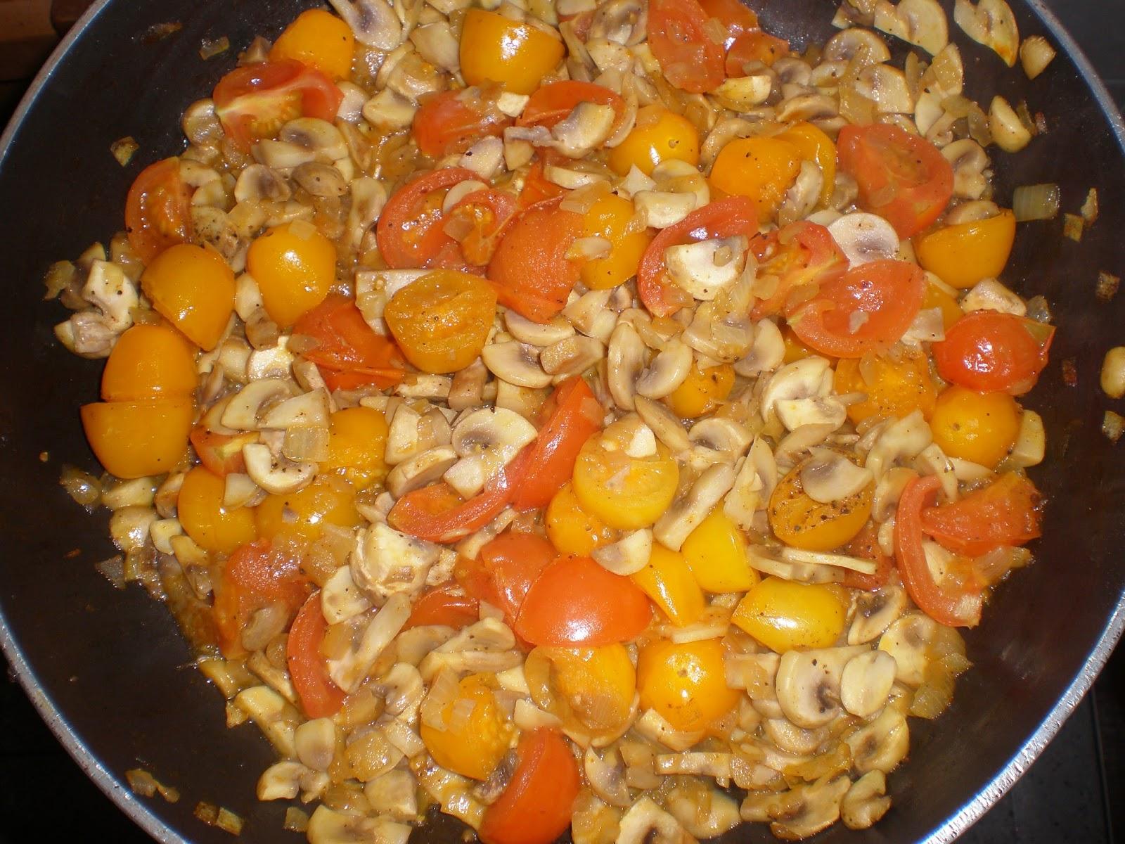 La cocinera novata orecchiette con verduras y pesto de - Como se hace la salsa pesto para pasta ...