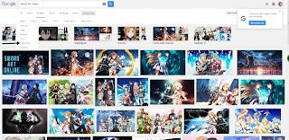 Langkah ke 6, tool tersebunyi untuk mencari gambar HD di Google
