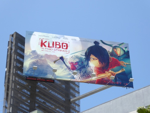 Kubo and the Two Strings movie billboard