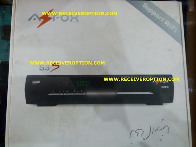 AZFOX S3S HD RECEIVER DUMP FILE