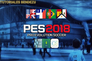 PES 2018 v4 PPSSPP Games Multiple Languages