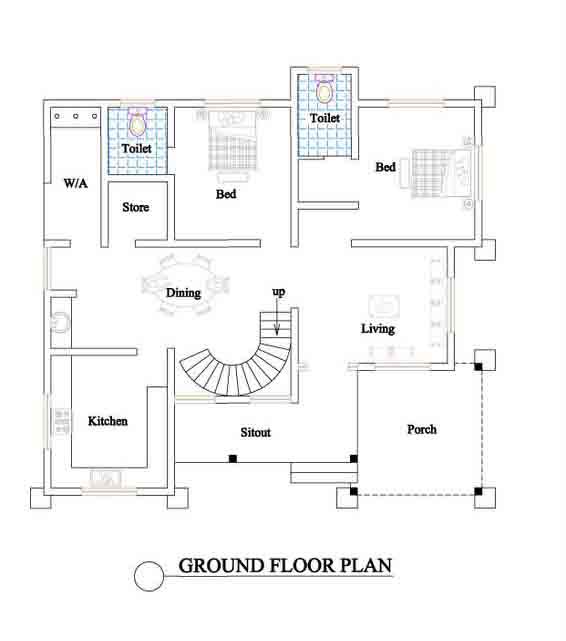 Elegant House Plans Kerala Home Design