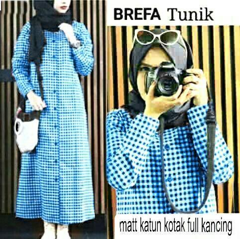 Jual Tunik Brefa Square Dress - 12913
