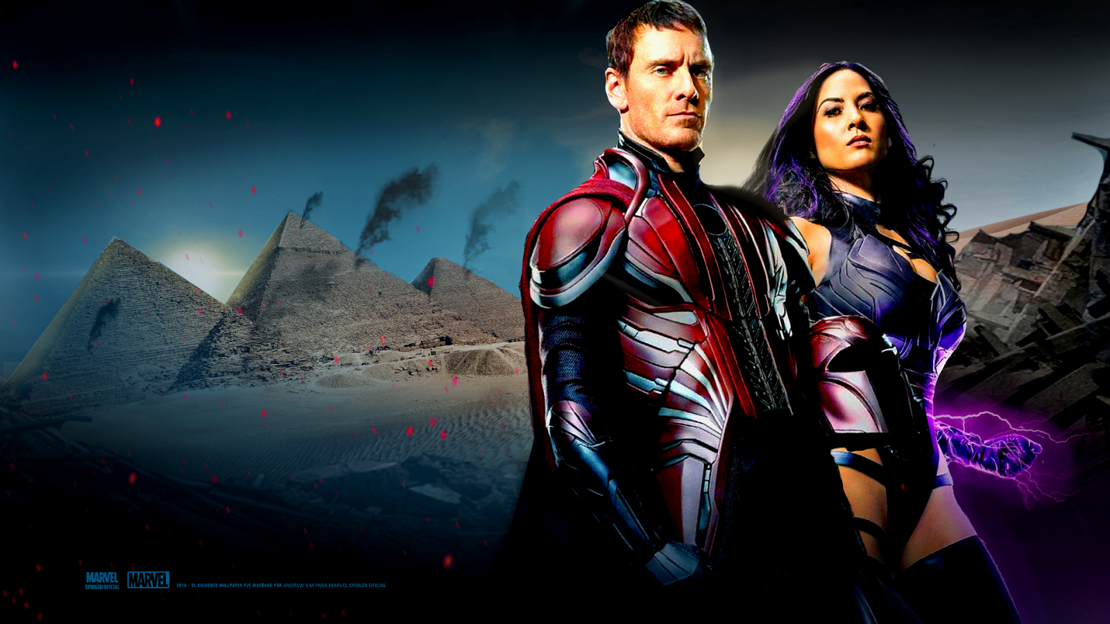 Marvel Spoiler Oficial X Men Apocalypse Wallpaper Hd