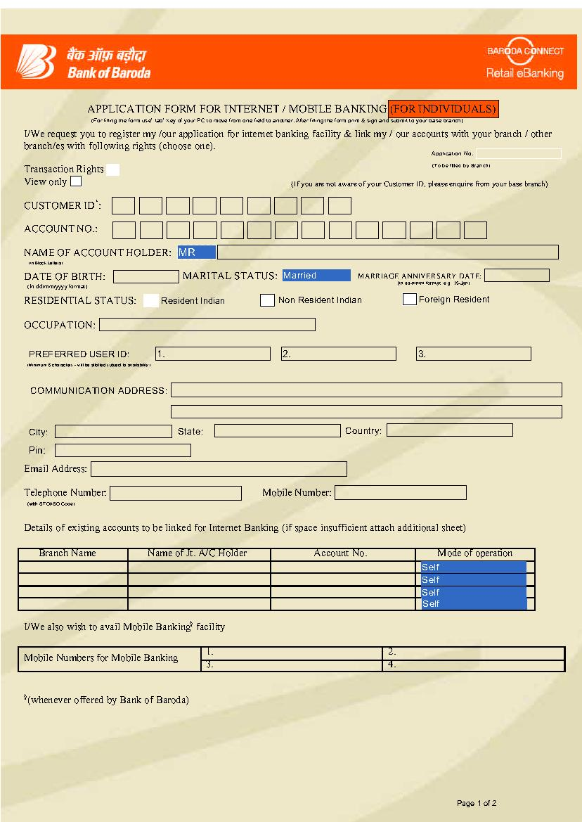 Hdfc bank forex card application form