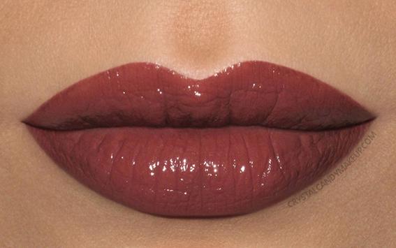 Lise Watier Rouge Intense Suprême Lipstick Swatch Daphne