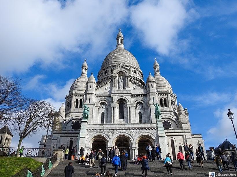Roteiro - 3 dias em Paris - Sacre Coeur