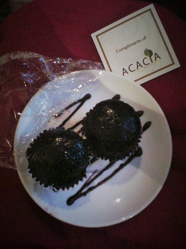 welcome to acacia hotel cupcakes