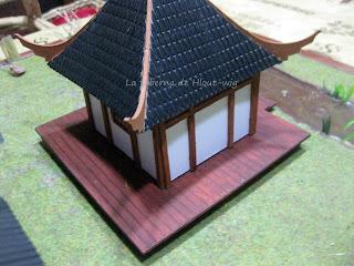 edificio japonés desde detrás