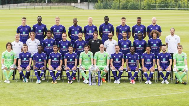 Belçika Ligi Şampiyonları Anderlecht - Kurgu Gücü
