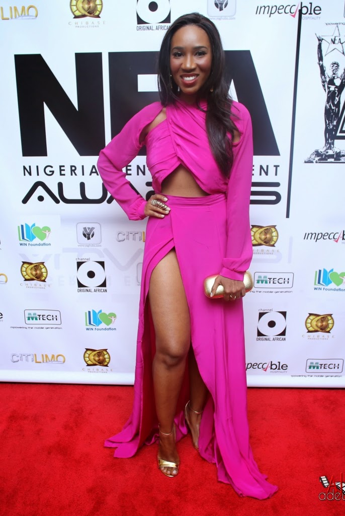 P67A9806 Red carpet photos from 2014 Nigeria Entertainment Awards