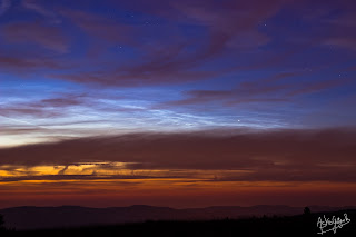 Noctilucent Clouds from France!