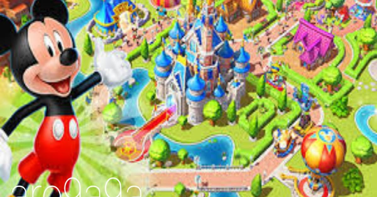 لعبة disney magic kingdoms مهكرة