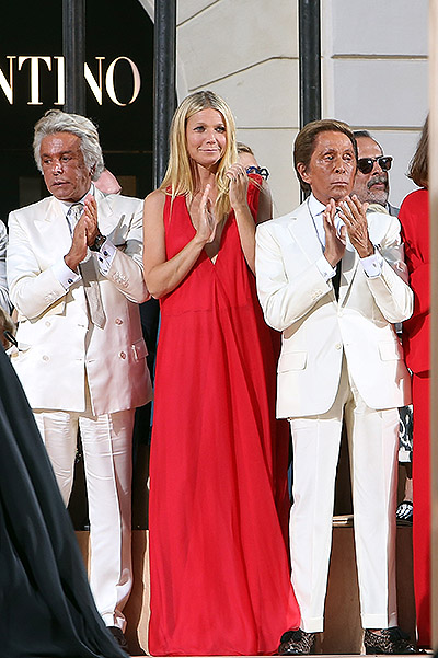 Giancarlo Giametti, Gwyneth Paltrow Valentino Harbour View full