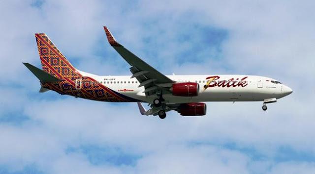 Pesawat Batik Air Mati Mesin di Udara dan Terjungkal 2 Kali, Penumpang Histeris
