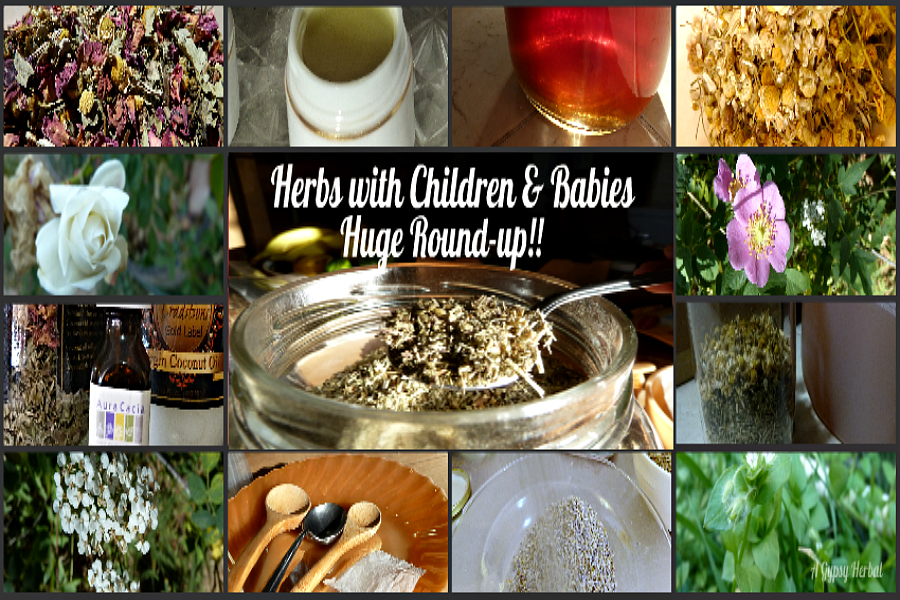 100 links How to Use Herbs with Babies and Chilren