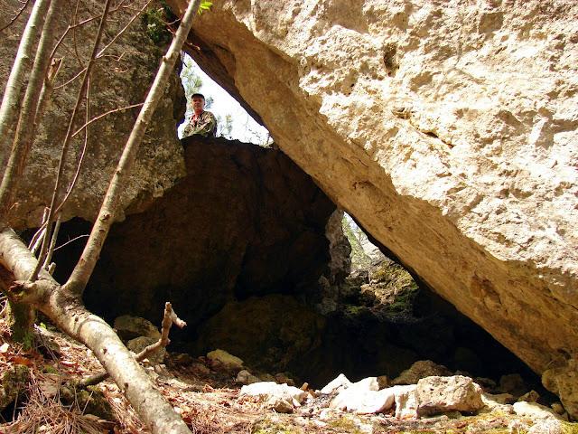 Нагромождение каменных глыб