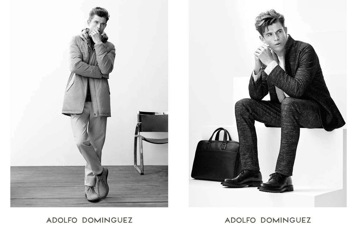 Campaign adolfo dominguez fw16 for Adolfo dominguez badajoz