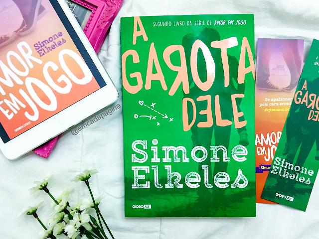 [Resenha] A Garota dele   Simone Elkeles