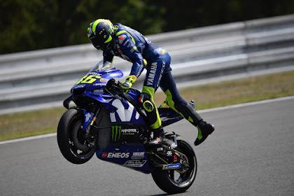 MotoGP Brno, Valentino Rossi Star Ke-2, Malah Takutkan Hal Ini