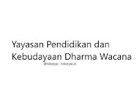 Lowongan Kerja Yayasan Pendidikan dan Kebudayaan Dharma Wacana Terbaru