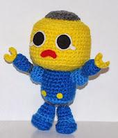MUÑECO LEGO AMIGURUMI 2862