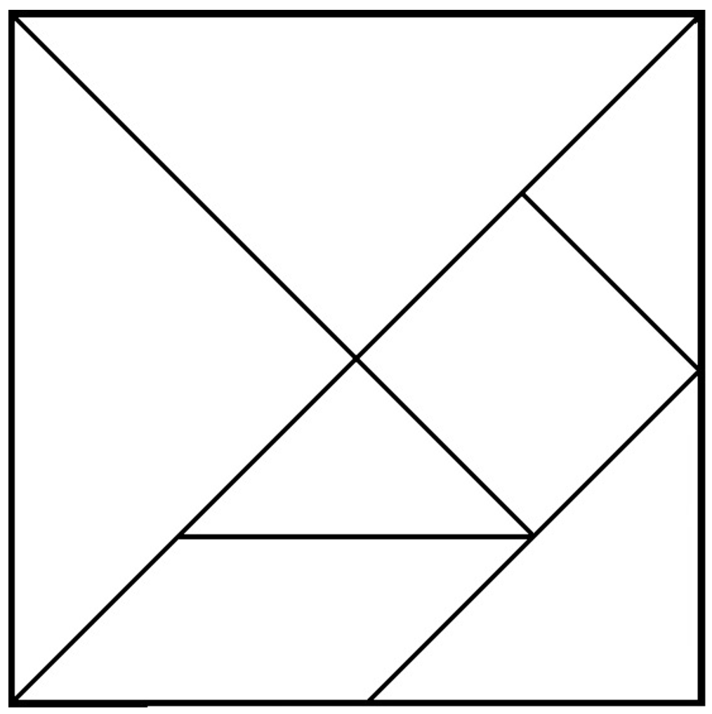 deWorx: Lazered tangram