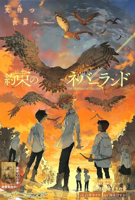 The Promised Neverland (約束のネバーランドYakusoku no Neverland), thriller obra de Kaiu Shirai y Posuka Demizu, ha entrado en su arco final.