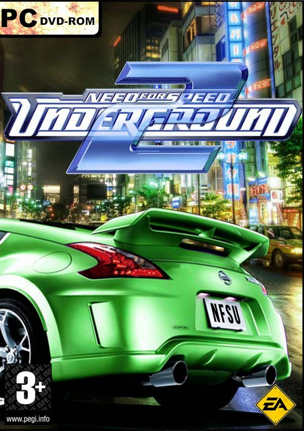Need For Speed Underground 2 Download Cover Free Game