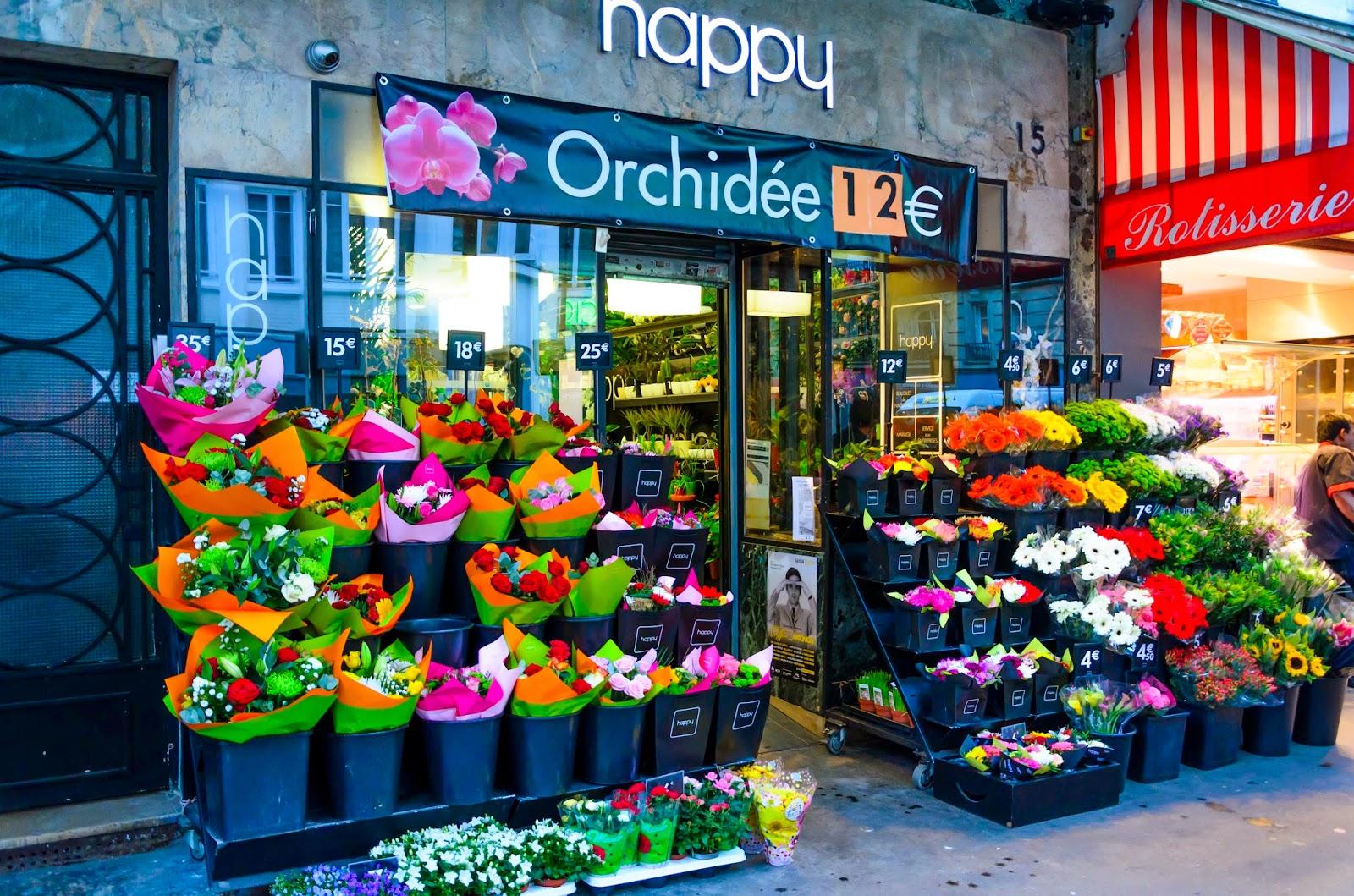 Floricultura em Paris