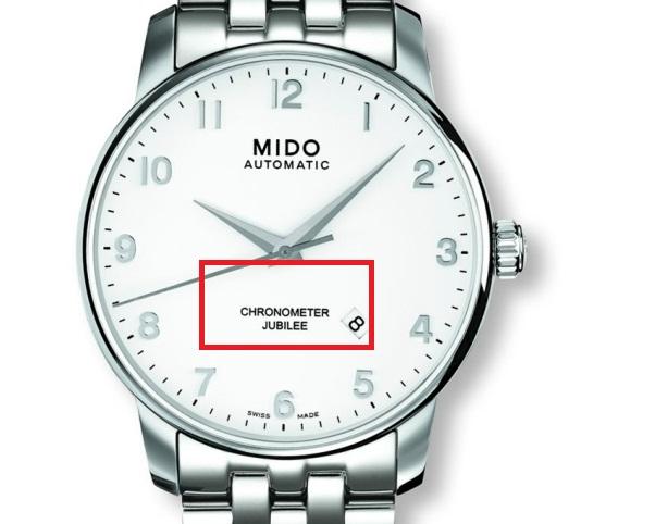 arti choronometer pada jam tangan