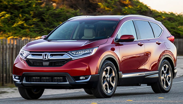 Honda Is Unveiling The 2019 Version Of Cr V For European Market Describing It As All New Which I Guess Means Europe Has Not Been Getting
