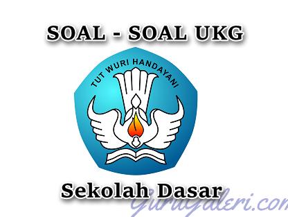 Soal UKG 2016 SD