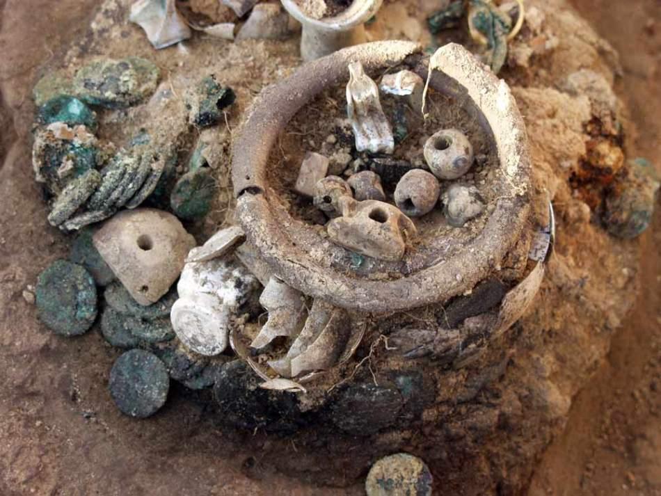 Сокровище 2000-летней давности обнаружено в крепости на Черн.