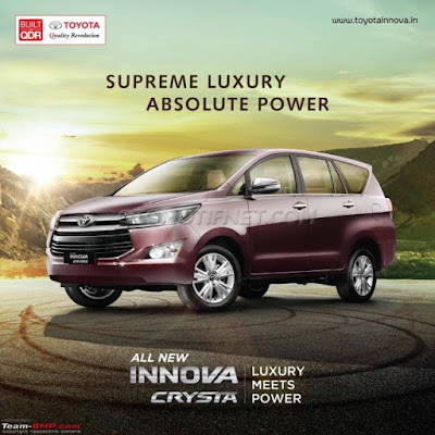 Toyota Innova harganya diatas 400 juta