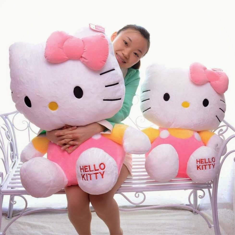 Boneka Hello Kitty Jumbo 49e068ee01