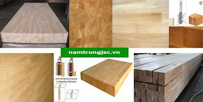 gỗ ép từ nhiều thanh gỗ nhỏ