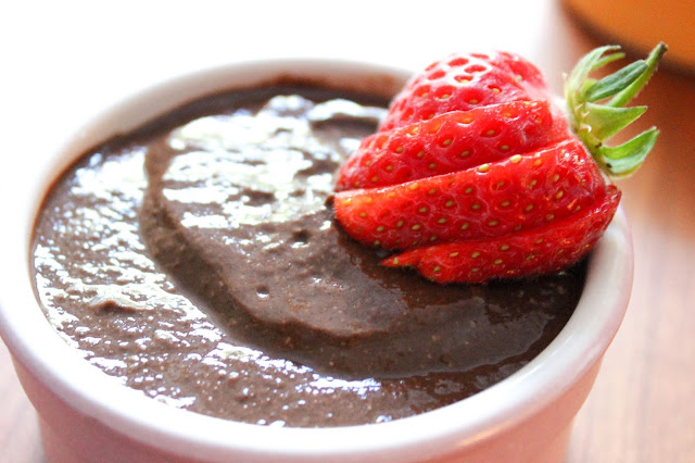 Five-Minute Chocolate Chia Seed Pudding [Vegan!], imogen molly blog, www.imogenmolly.co.uk